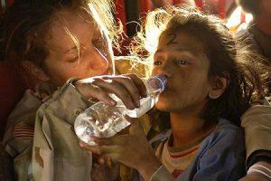 causa solidaria agua limpia saneamiento