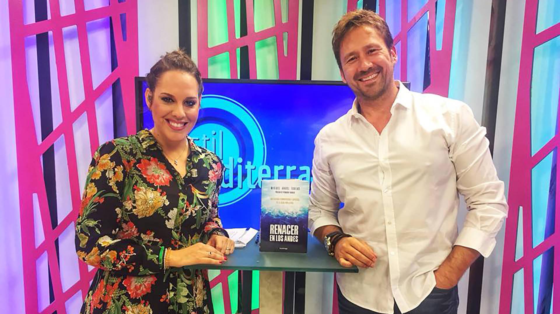 entrevista miguel angel tobias libro renacer andes tv mediterraneo