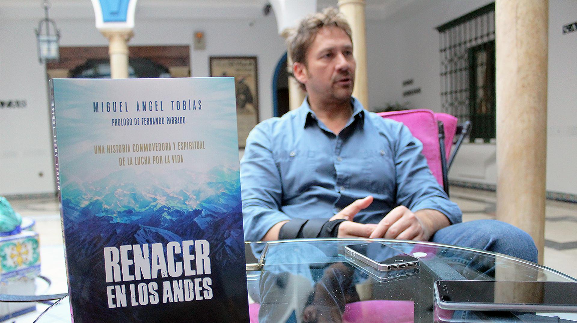 entrevista miguel angel tobias libro renacer andes gatropolis